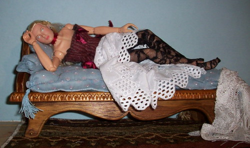 Gretta On Fainting Couch Amy Jones Flickr