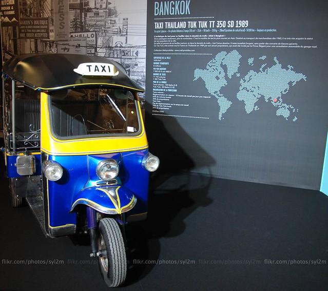 D Exhibition Bangkok : Taxi betjak tuk tt sd bangkok