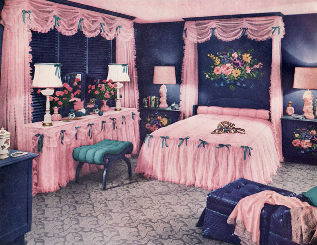 1940 Bedroom Decorating Ideas: Published In The July 1950 Edition Of