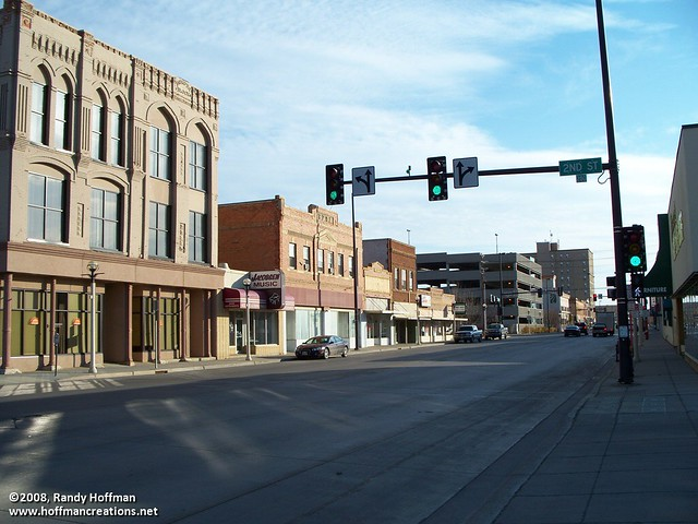 Downtown Bismarck North Dakota Downtown Bismarck as seen Flickr