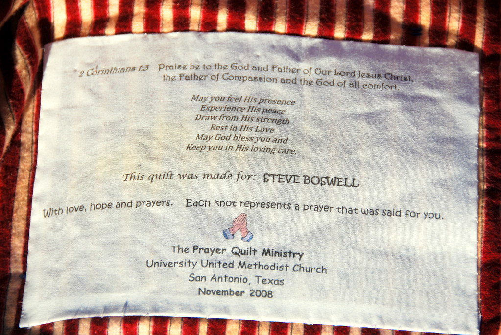 Prayer Quilt Label 2corth 1 3 Quot Praise Be To The God