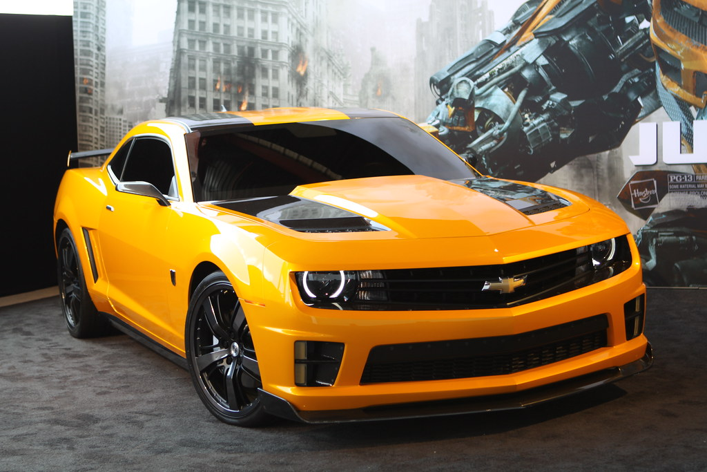 2012 Transformers 3 Bumblebee Camaro Ss Bumblebee Is The