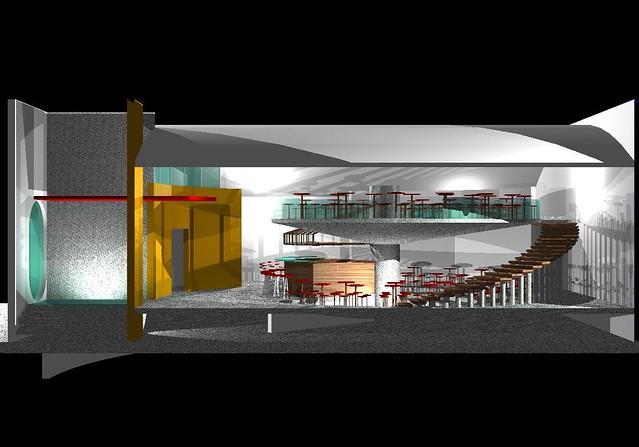 Bar caf proyecto de bar cafeter a realizado por el arq - Proyecto bar cafeteria ...