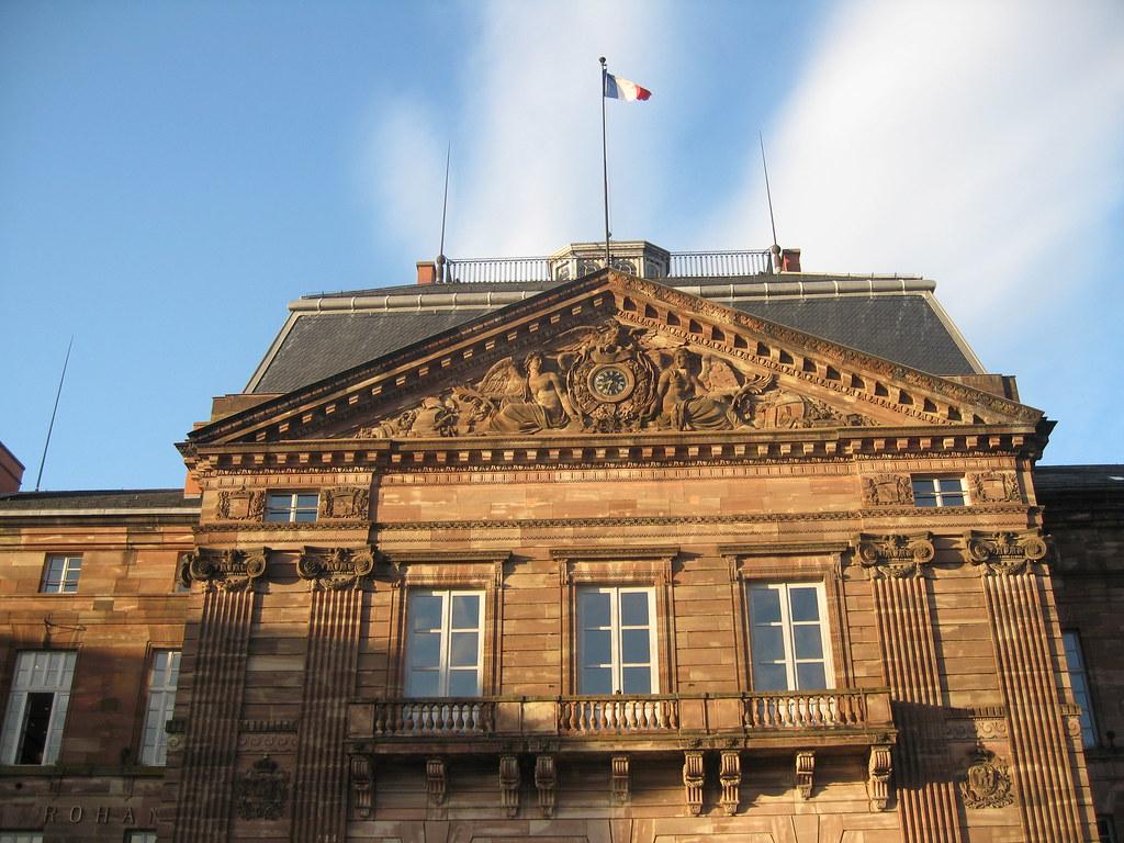 Palais Rohan  U00e0 Saverne Alsace France