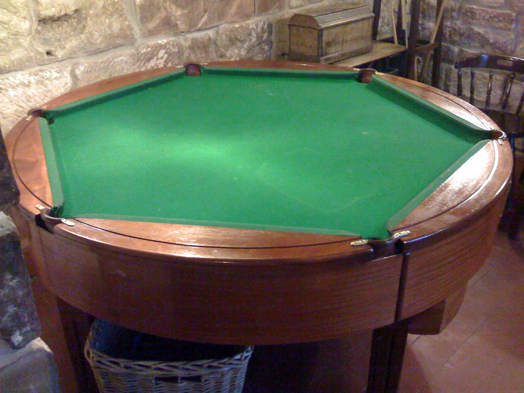 Hexagonal Rotating Pool Table | Neil Crosby | Flickr