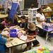 kindergarten, in session