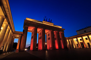 Brandenburger Tor – Festival of Lights 2008, Berlin | by Ole Begemann