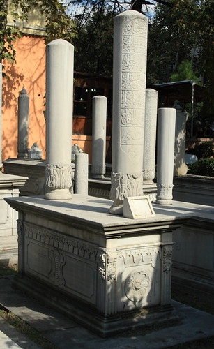 Odd looking tombstones in a cemetery in old Istanbul | by Alaskan Dude