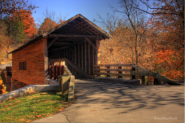 Harrisburg Covered Bridge This Is In E Tn In