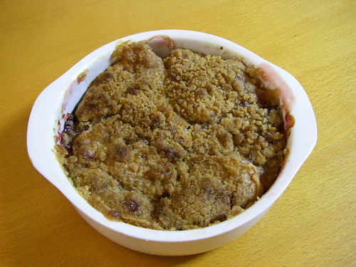 Apple plum crisp | by Blue Lotus