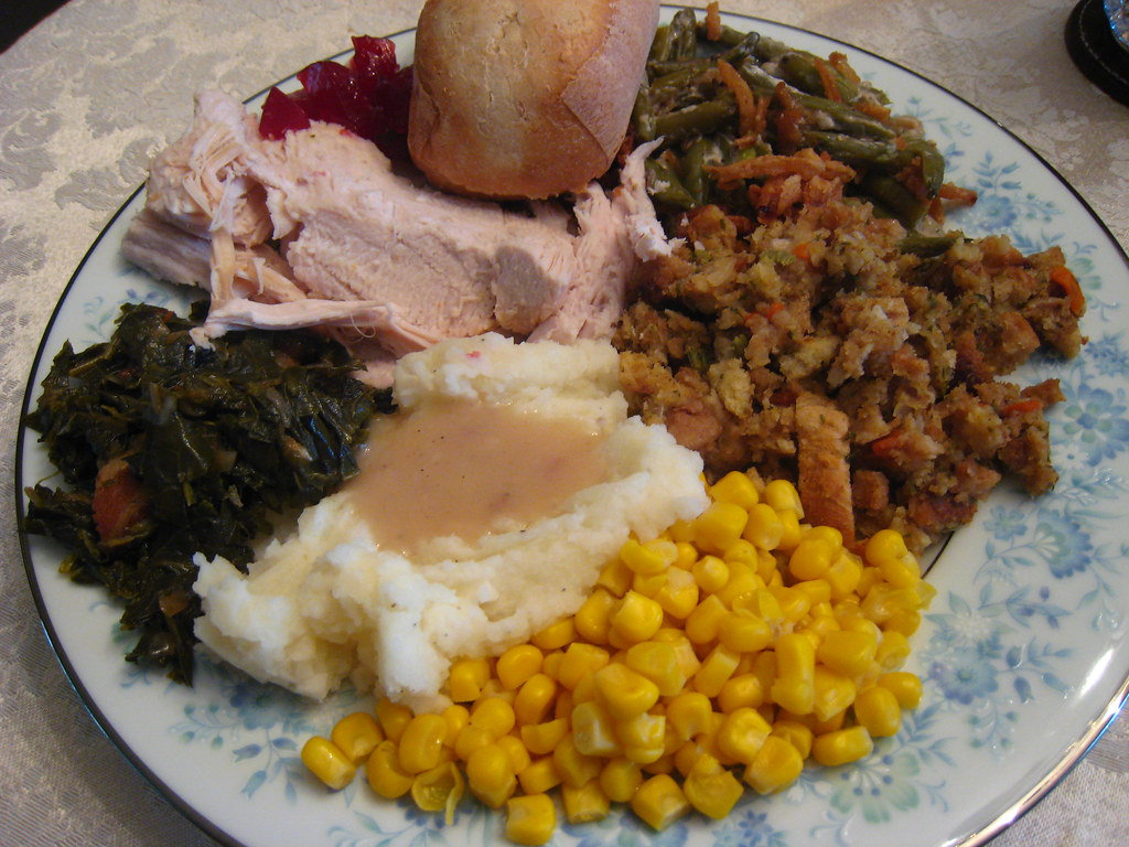 thanksgiving plate before barb watson flickr. Black Bedroom Furniture Sets. Home Design Ideas