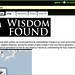 Wisdom Lost Wisdom Found Homepage