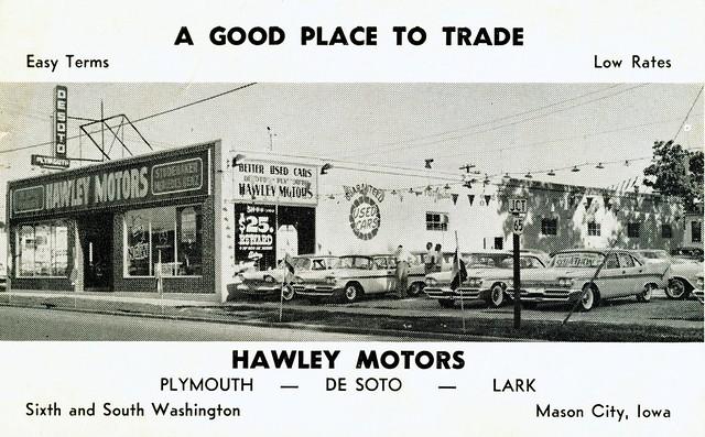 hawley motors desoto plymouth mason city ia flickr photo sharing. Black Bedroom Furniture Sets. Home Design Ideas