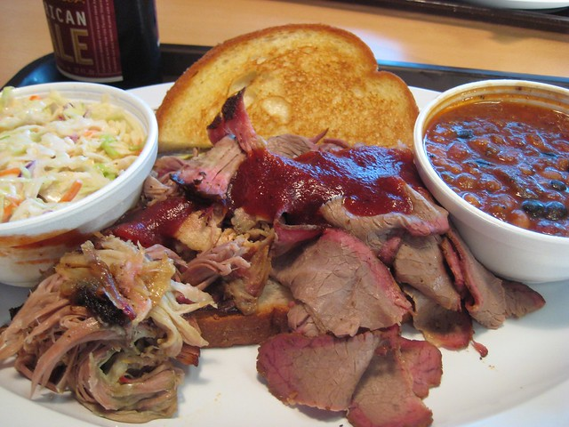 Oklahoma joe 39 s barbeque brisket and pulled pork flickr Places to eat in garden city ks