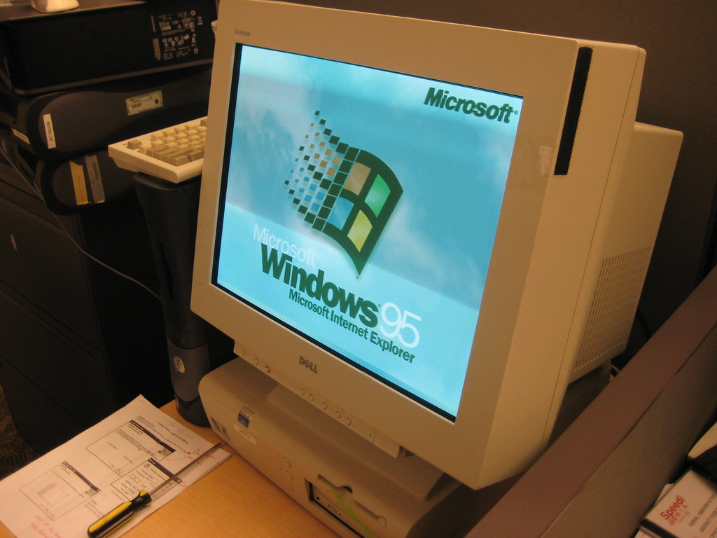 Windows 95 At Work We Have A Windows 95 Pc That Runs