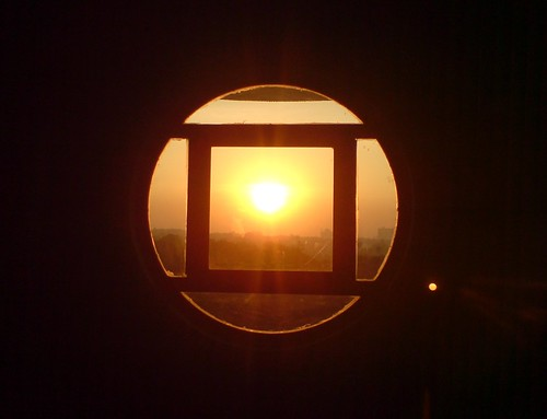 sunrise through H12 window | (00588) | Vipul Mathur | Flickr