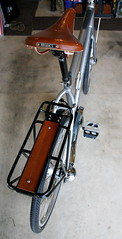 rear rack and saddle