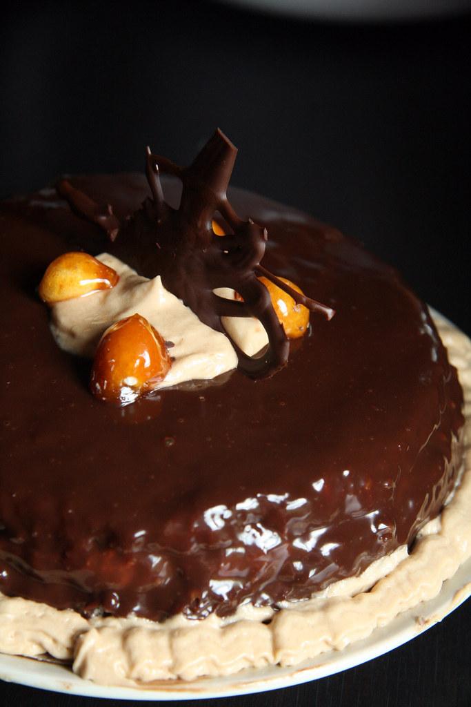Macadamia Nut Coffee Cake