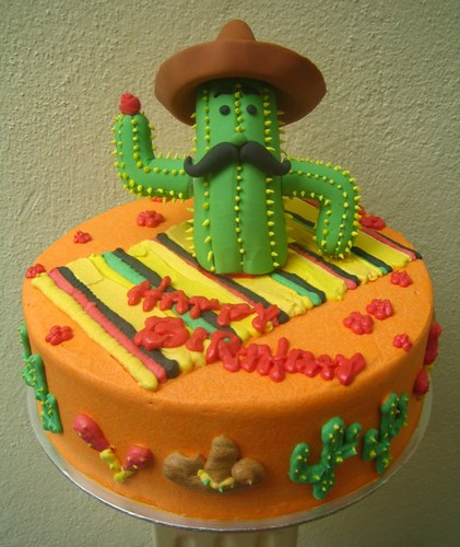 Mexican Cactus Artisan Cakes By E T Flickr