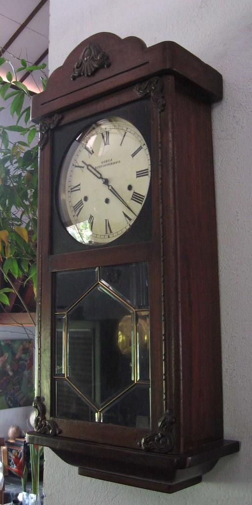 Antique Chiming Kienzle Wall Clock Kienzle Wall Clock