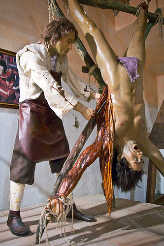 Flayed girl tied to post - 1 part 2