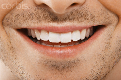Male Mouth Smiling | Man's Mouth Smiling --- Image by ...