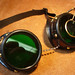 goggles with flipdown lens