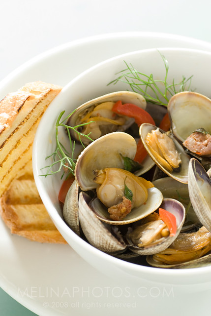 fennel clams detail | with italian sausage, fresh oregano ...