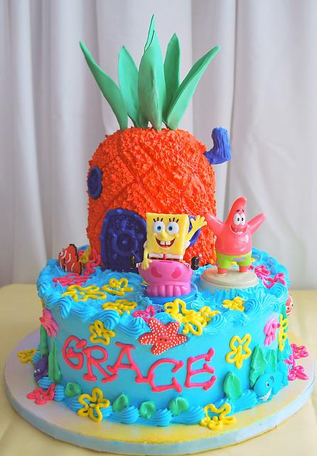 Spongebob Squarepants Cake Cake For My Niece Grace S
