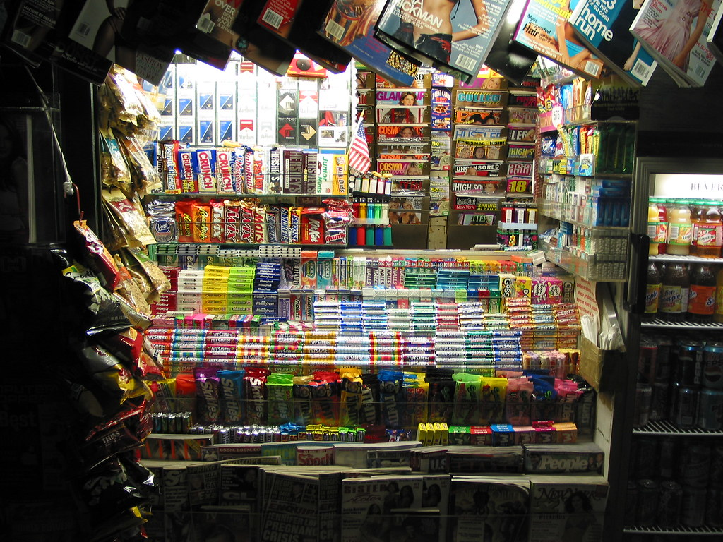 About It >> Newsstand Night | NYC | JIm Ronan | Flickr