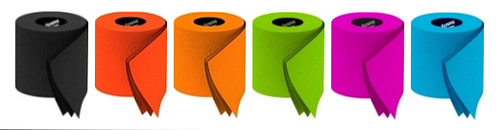 Colored Toilet Paper Canada