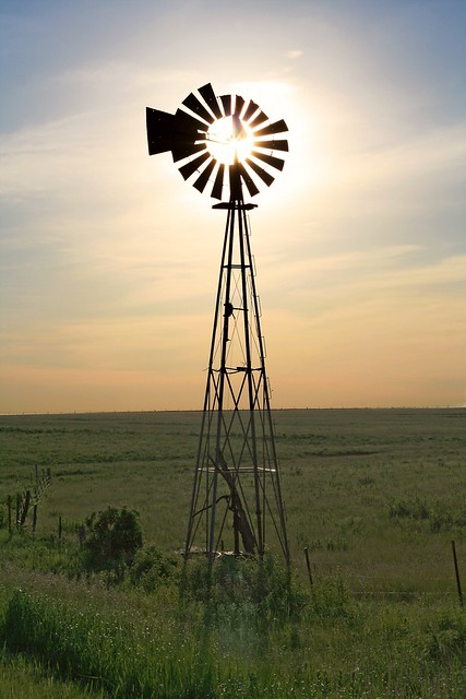 Kansas Windmill 9124 | I still have a few photos from our