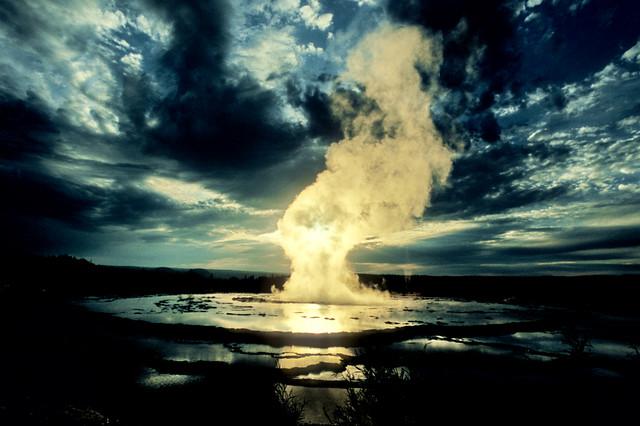 Great Fountain Geyser Yellowstone Wonderful As Much As