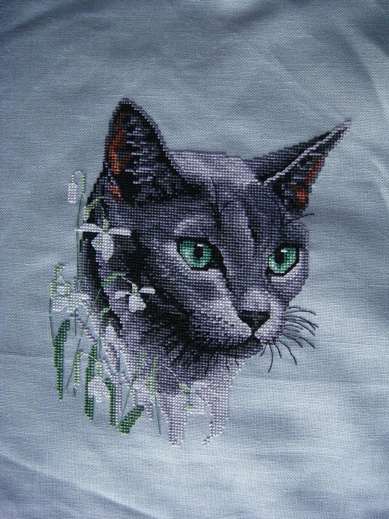 Cat Cross Stitch Patterns Uk