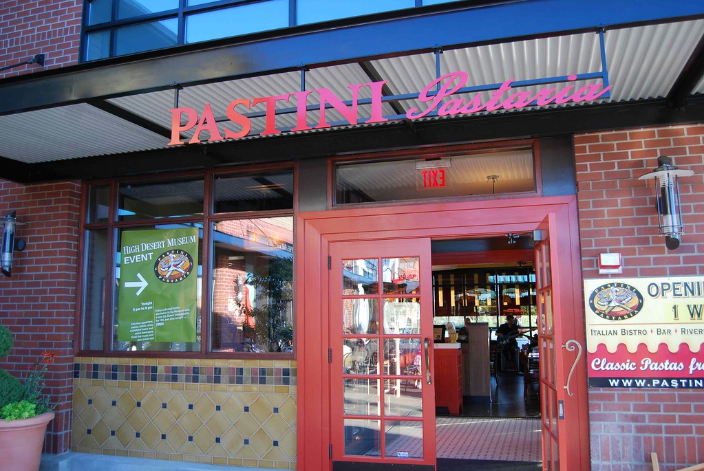 Pastini bend oregon front door grand opening of our