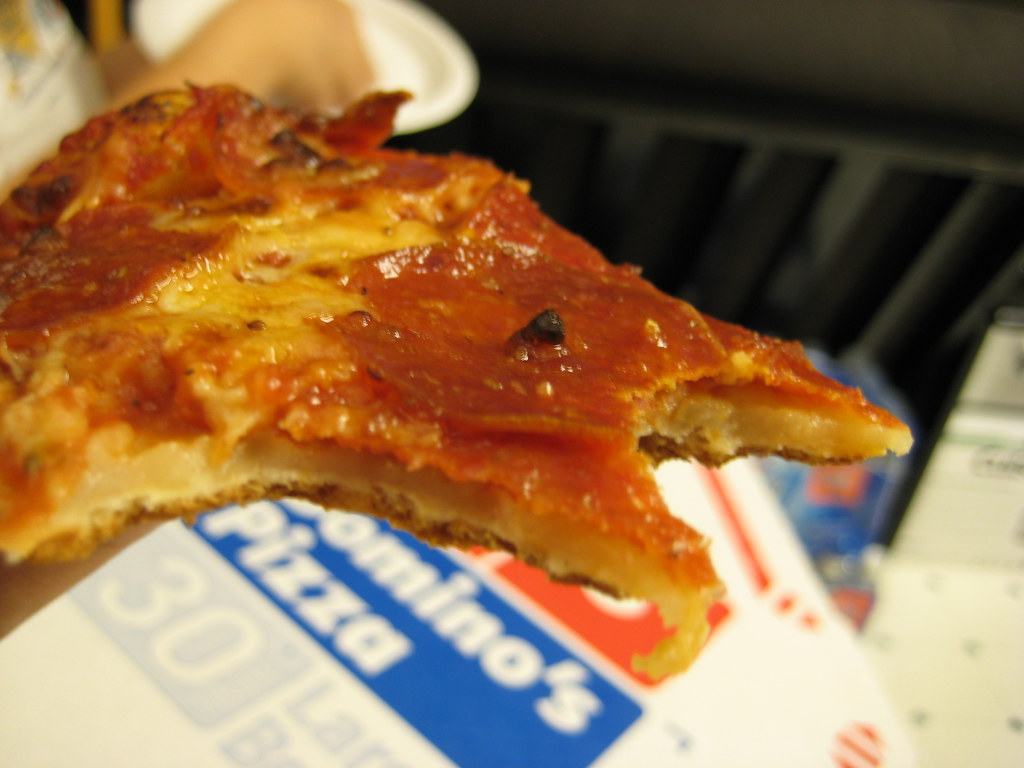 dominos campaign The campaign was created in partnership with the agency kabaq, which visited a domino's location to shoot images of a pizza before turning the photos into an ar feature.