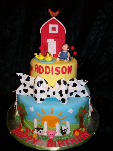 Cake Decoration Farm Theme : Farm Theme Birthday Flickr - Photo Sharing!