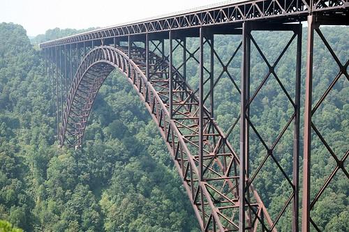New River Bridge West Virginia New River Gorge Bridge