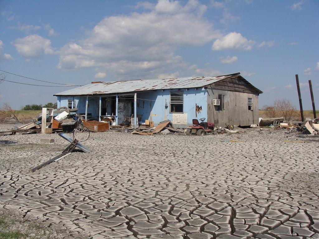 Isle De Jean Charles - Blue House