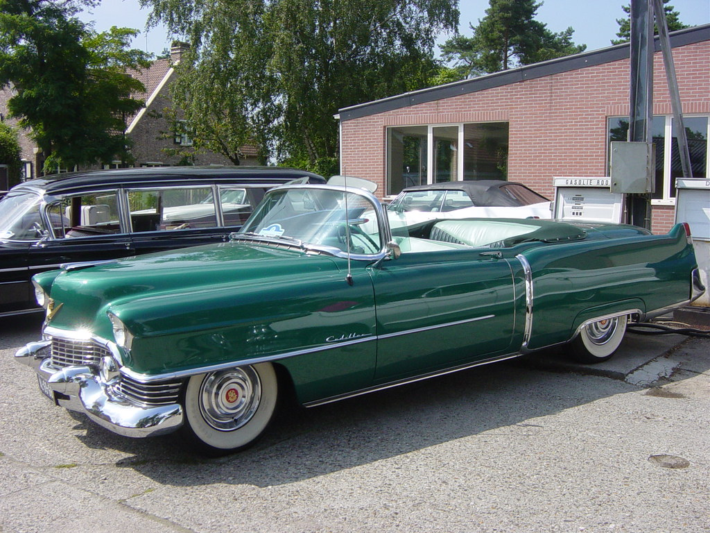 1954 Cadillac Sixty Two Convertible One Of The First