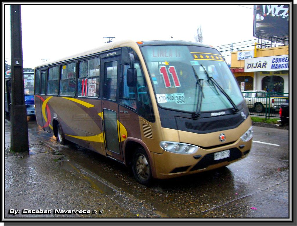 Transportes san pedro linea 11 valdivia for Mercedes benz san pedro