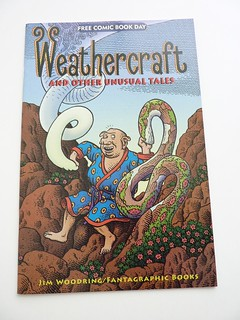 Weathercraft and Other Unusual Tales by Jim Woodring (Free Comic Book Day 2010) - front | by fantagraphics