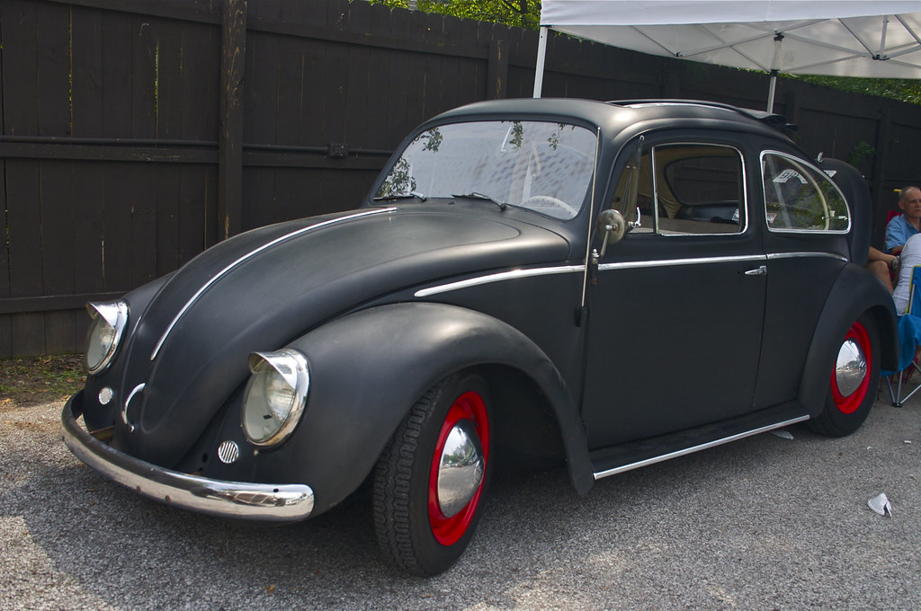 Flat Black Volkswagen Beetle Vw Bug Beatersville 2011