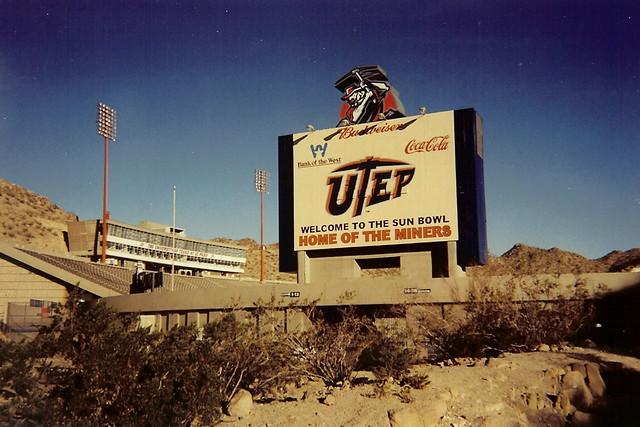Hyundai Of El Paso >> Sun Bowl, UTEP campus, El Paso, Texas | The Sun Bowl is an o… | Flickr