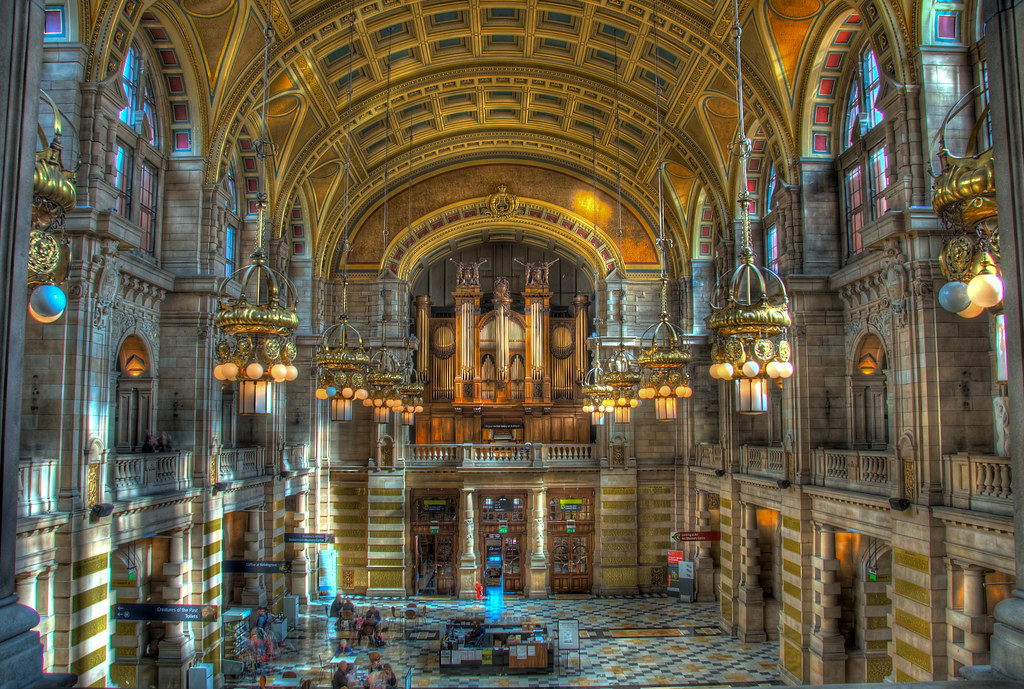 Kelvingrove Art Gallery - HDR | Decided to take a quick ...