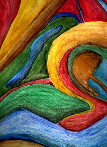 T cnicas de dibujo pintura abstracta laurita mza flickr for Imagenes de cuadros abstractos faciles
