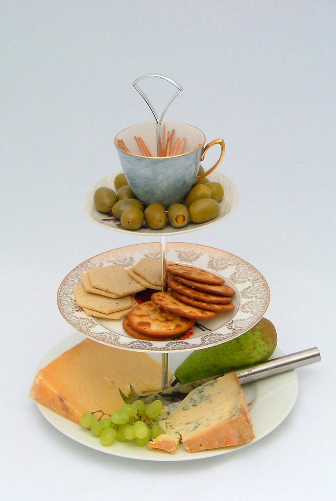 Cheese Board And Cake Stand