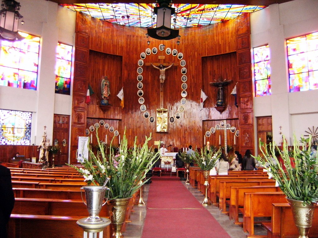 Santuario san felipe de jesus iztacalco ciudad de m xico for Casa moderna 3181