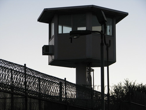 prison guard tower | by Rennett Stowe