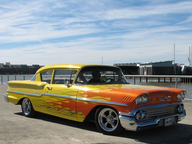 1958 chevy 2 door